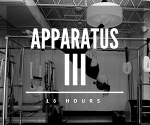 Apparatus III