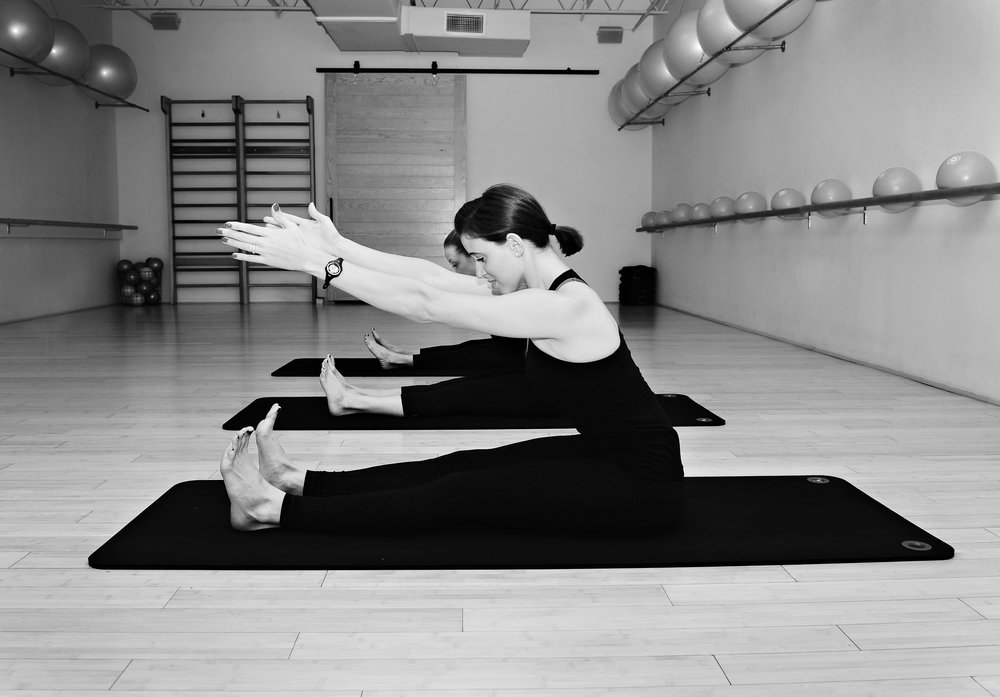 We believe Pilates improves posture.