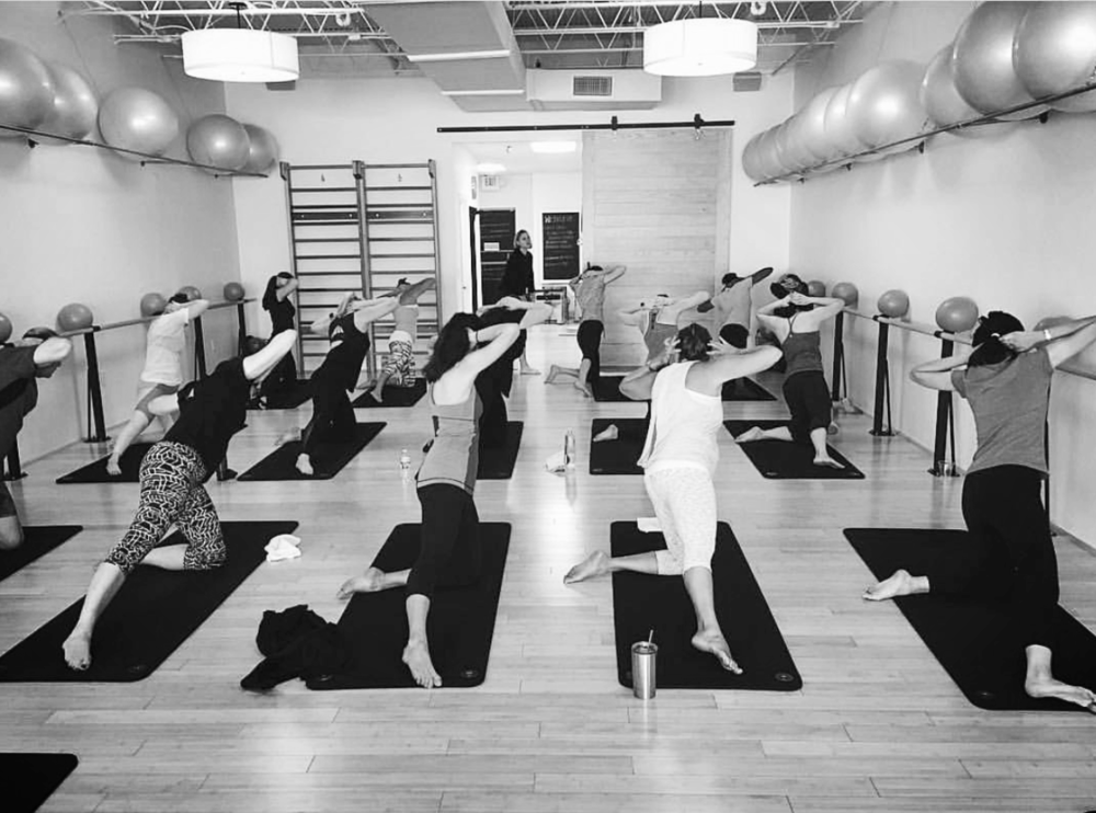 Mat Space at Pure Body Studio, boutique Pilates in Houston