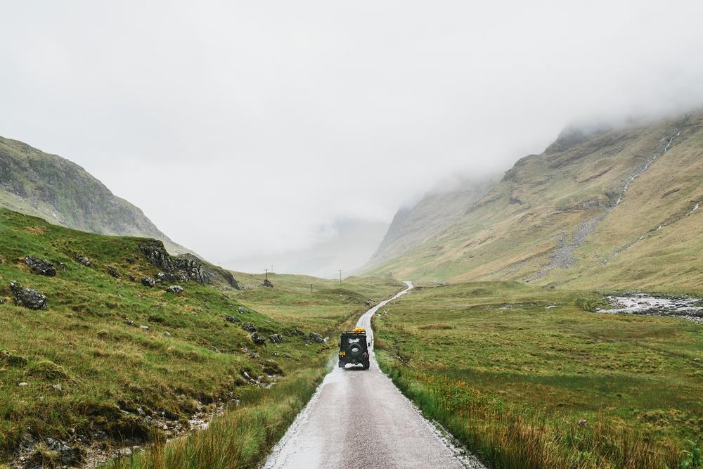 Keep Walking, Scotland