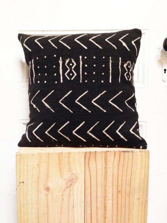 Mud Cloth PIllow fromOSxN