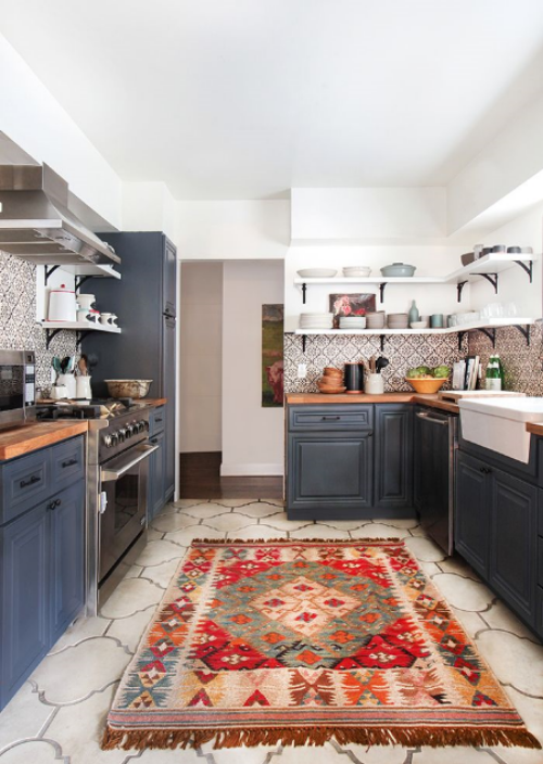 This Tuscany meets California kitchen via Emily Henderson