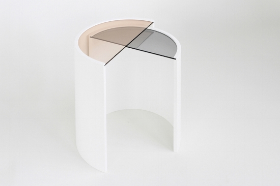 Contour Side Tables by Bower