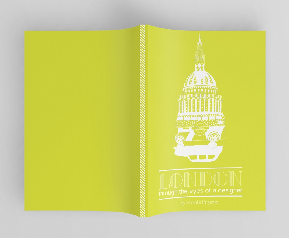 """London Through The Eyes Of A Designer"". Cover"