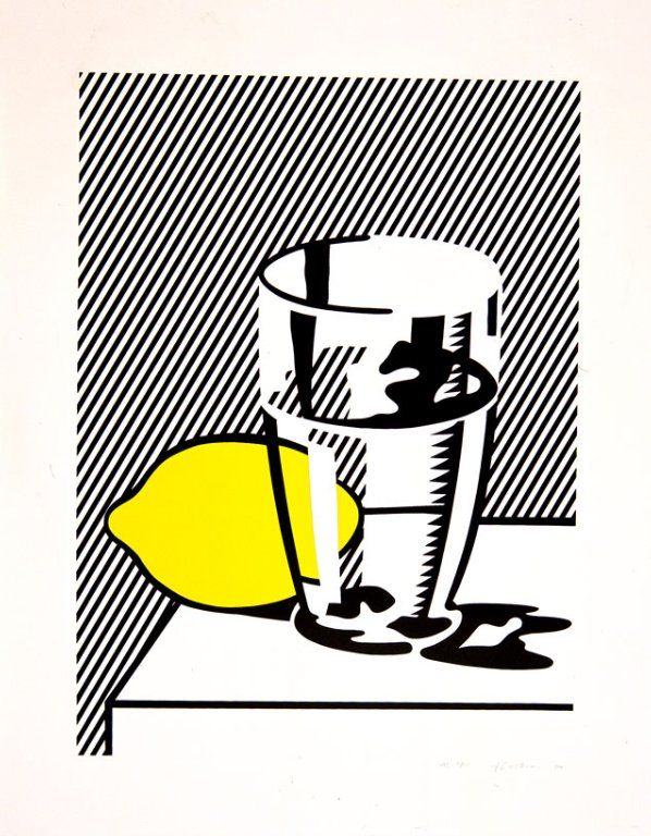 Untitled (Still Life with Lemon and Glass), 1974