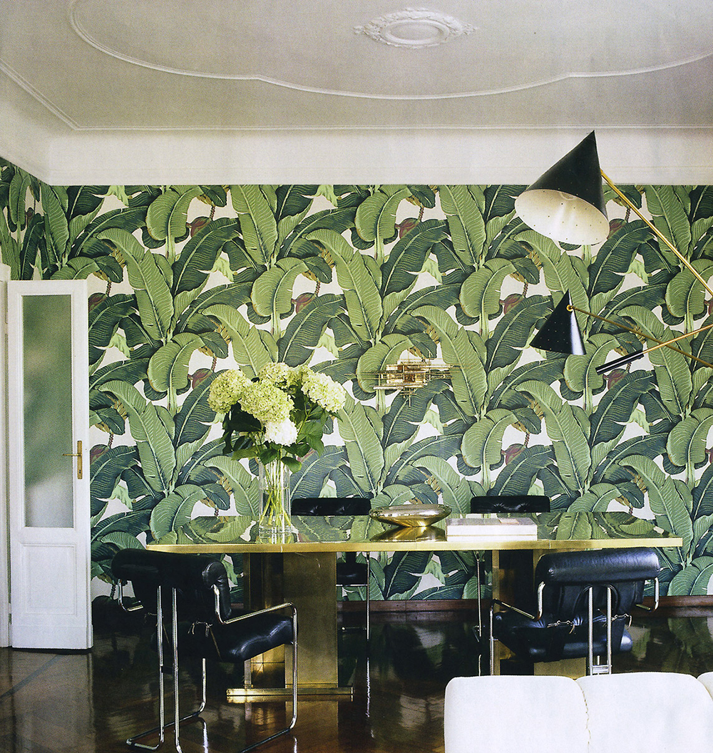 Martinique 'A' Wallpaper, 1942