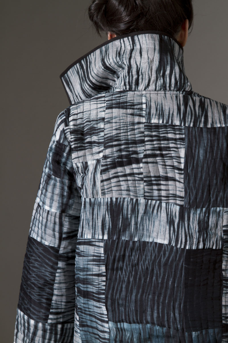 Quilted Artist Coat