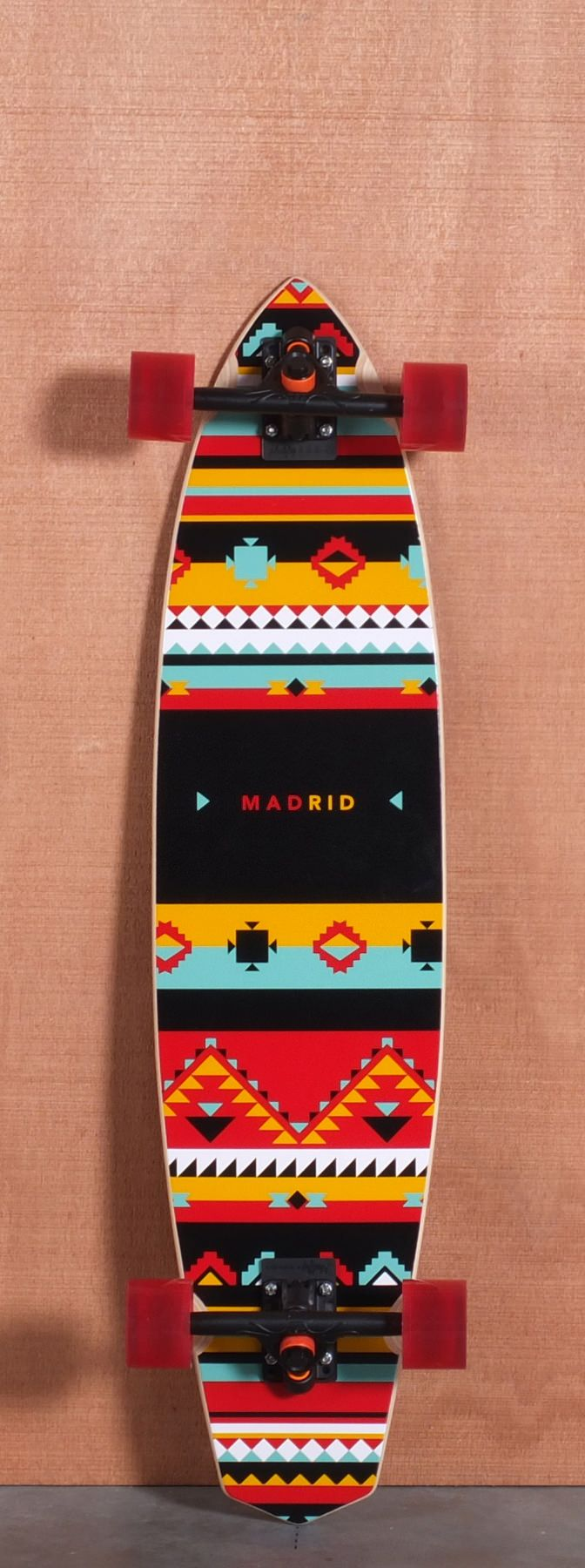 "MADRID 38"" AFRICA LONGBOARD COMPLETE"