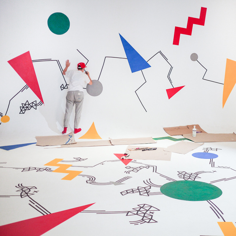 Mural for Google Big Tent 2012.