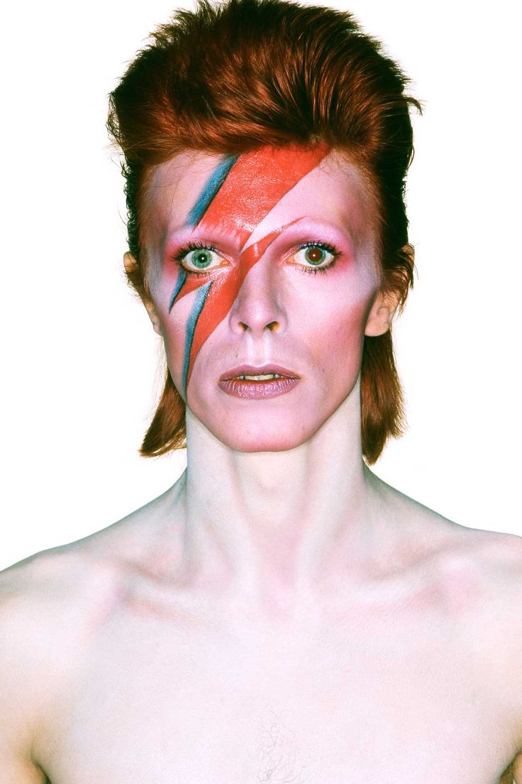 David Bowie – Aladdin Sane cover, 1973