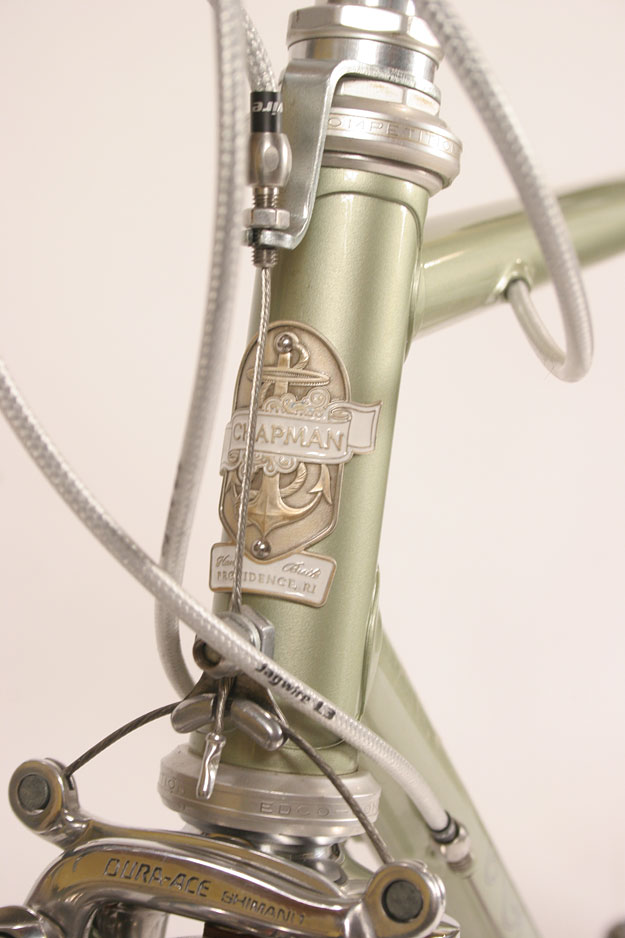 Head badge design for Chapman Cycles