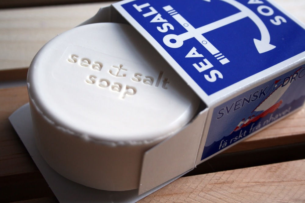 Sea Salt Soap (soap and packaging)