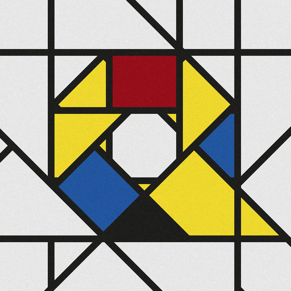 Q for De Stijl movement (1912-1915)