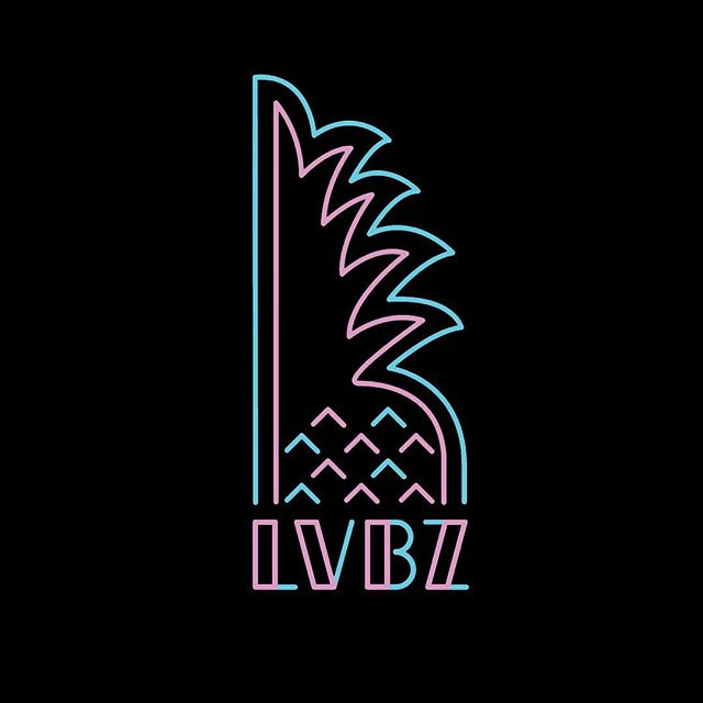 Alternative #logo design for LVBZ . . . #graphicdesign #graphics #designprocess #process #wip #neon #branding #party #flamingo #colours #illustration #design #intersectionbase #intersectiondesign #love #bazar #lvbz