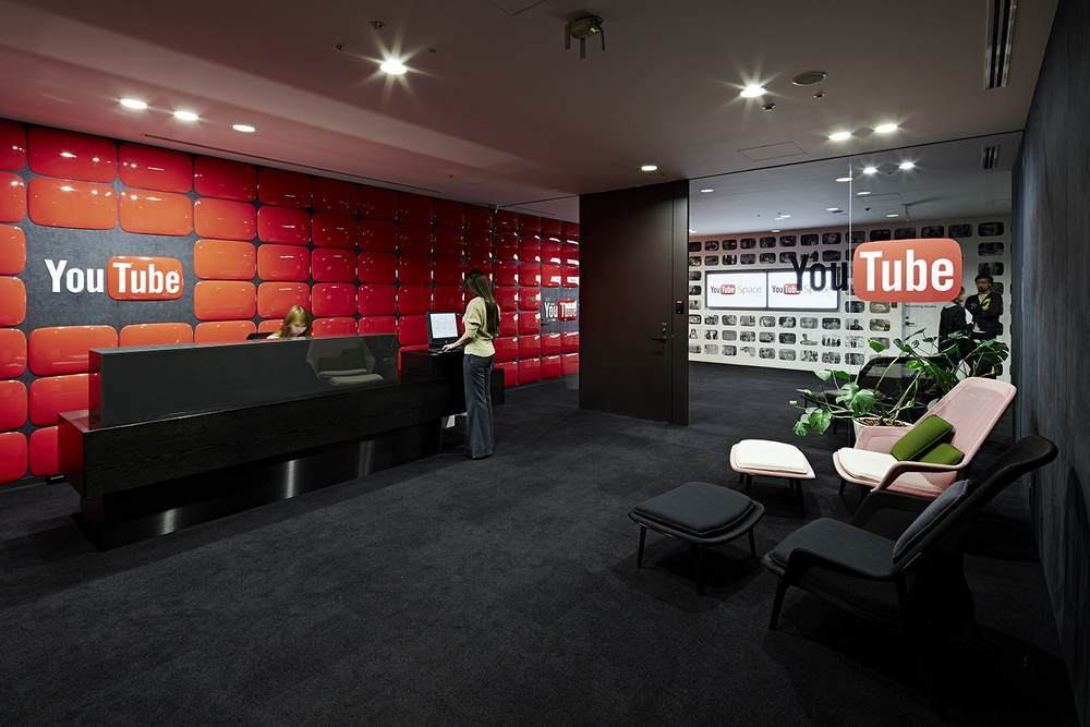 google tokyo office. Klein Dytham Architecture\u0027s YouTube Space \u0026nbsp;in Tokyo Provides For The Use Of Partners Google Office