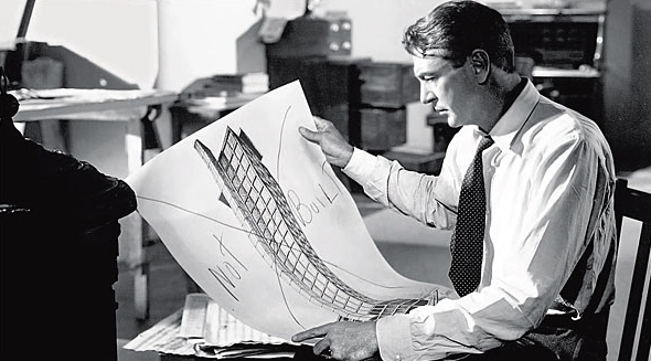 Gary Cooper in The Fountainhead