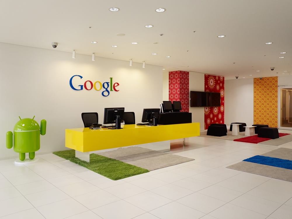 Superb Klein Dytham Architecture Designed The Interior For Google U0027s Japan Office.  Phases 1 And