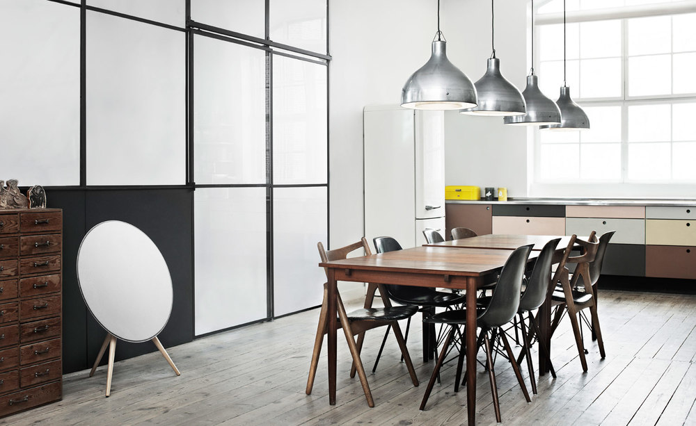 Beoplay A9 Speaker / Bang & Olufsen / Photo: designboom.com