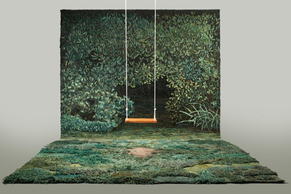 Carpet artwork by Alexandra Kehayoglou