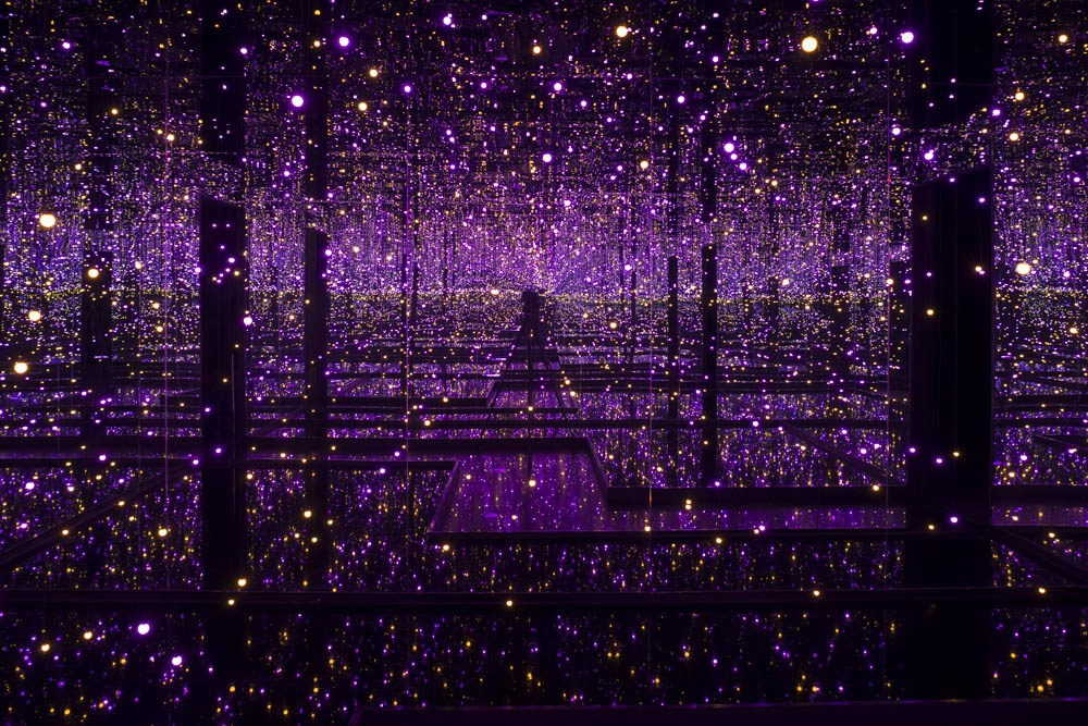 Yayoi Kusama at the Victoria Miro Gallery