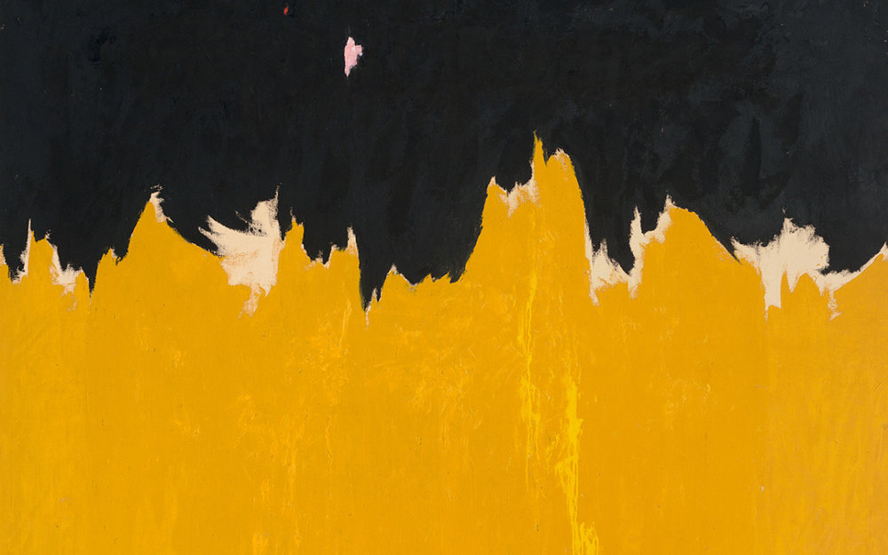 Clyfford Still, PH-950 (detail), 1950