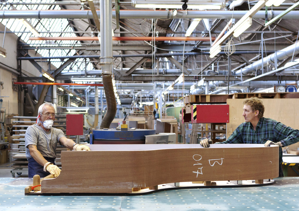 Steinway & Sons, 2016: Making of.