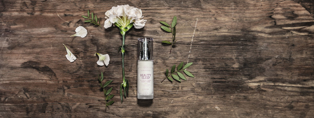 Beauty Sleep: youth restoring night cream.