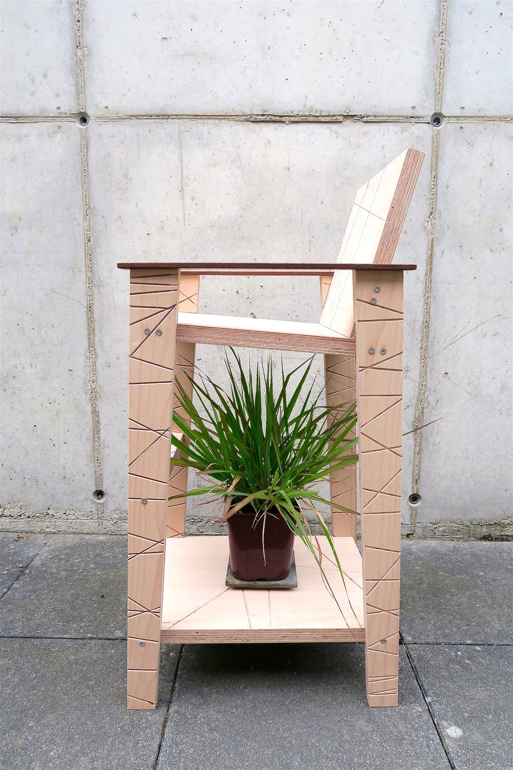 nitsn sustainable bespoke furniture, 2016.