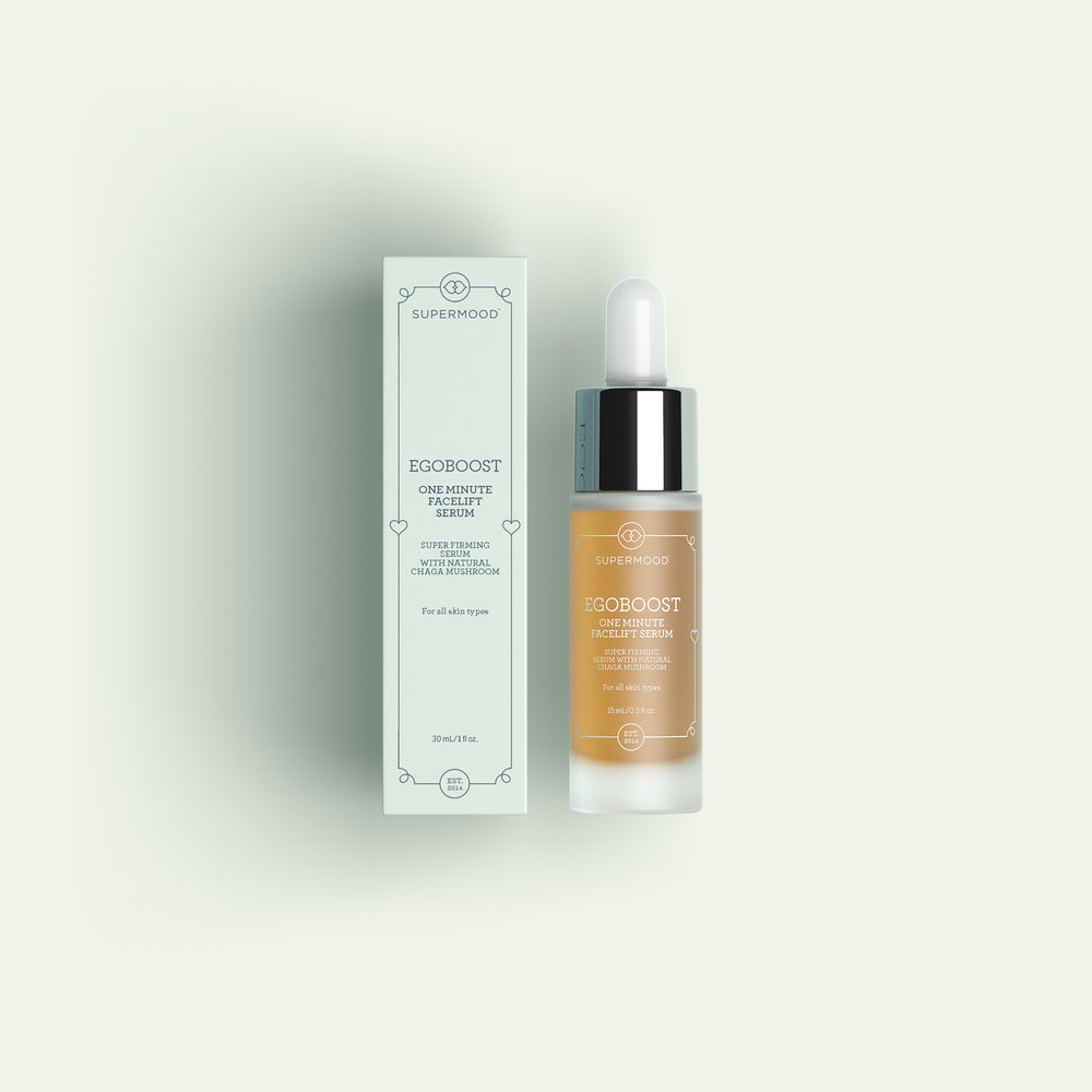 Supermood Egoboost: One Minute Facelift Serum.