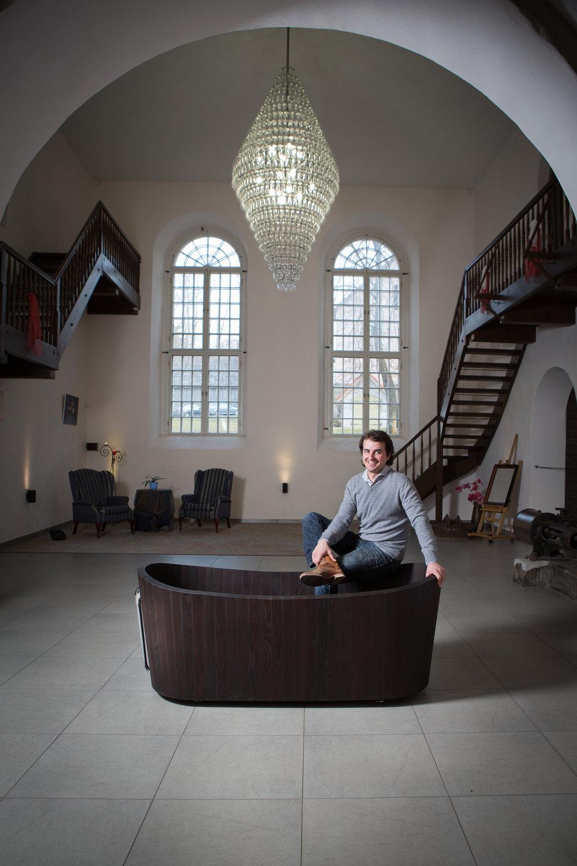 Frants Seer, founder of KHIS, 2017.