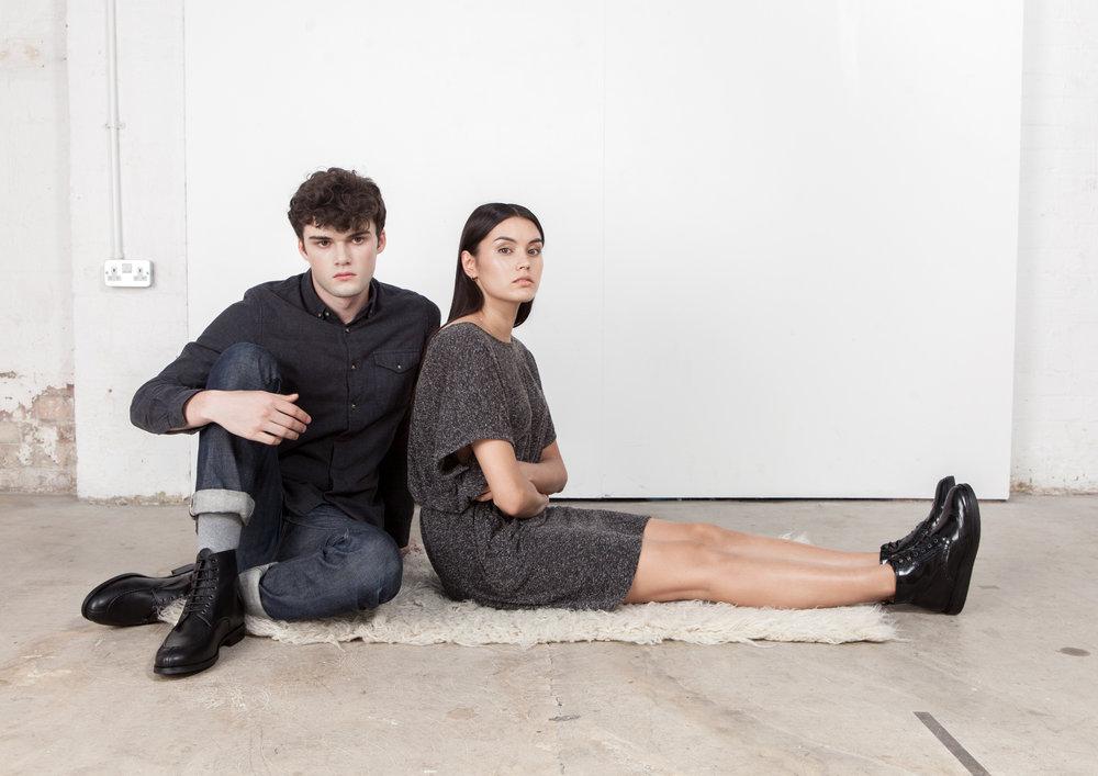 Bourgeois Boheme AW16: Shaun Black & Petra Black.