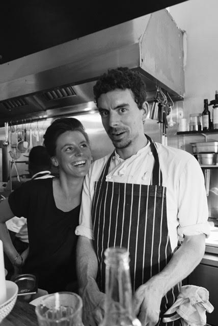 Margaux and Joe, founders of The Other Naughty Piglet.