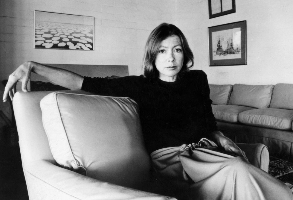 Joan Didion.