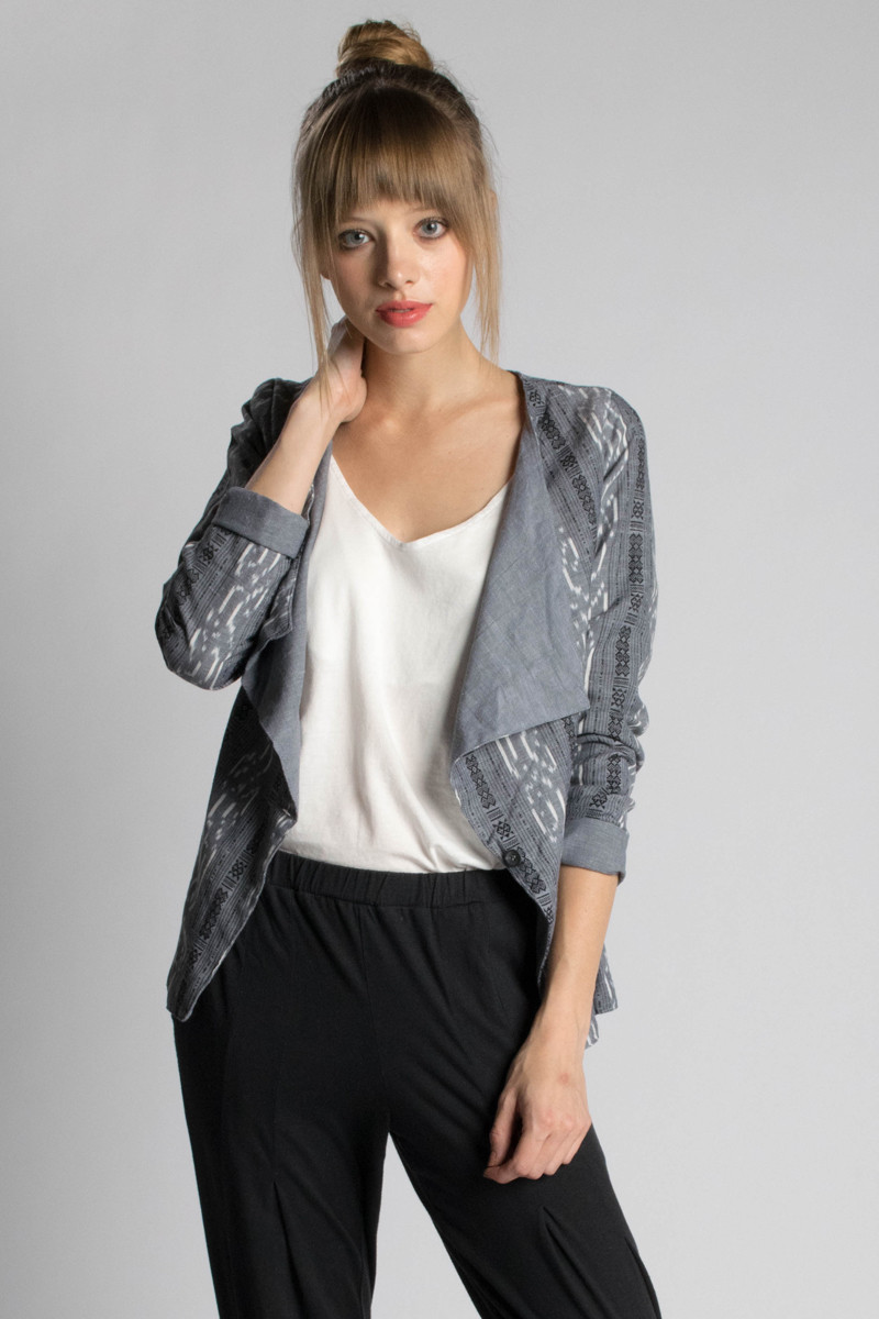 Passion Lillie: Ikat Jacket - Shop at Beadandreel.com