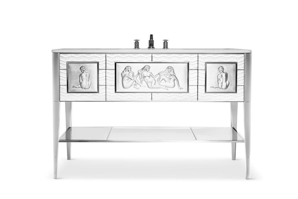 Lalique x Pierre-Yves Rochon Signature: CAUSEUSES Vanity.