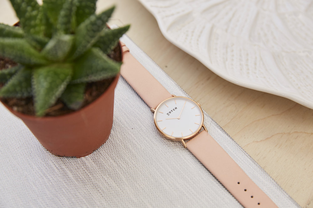 Votch Vegan Leather Watch - via Shop.addresschic.com