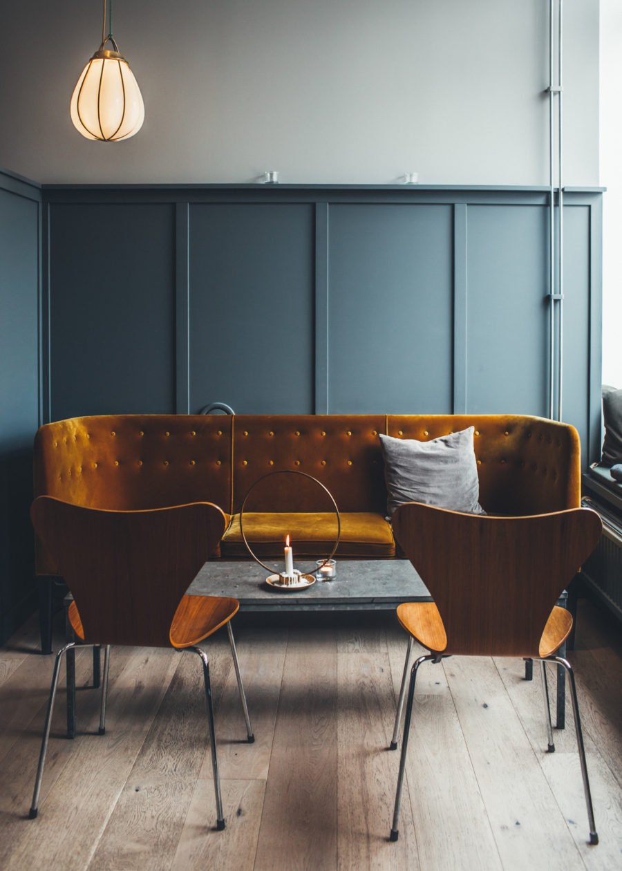 Borgmästargårdens Café, Falkenberg / Photo: Kristin Lagerqvist