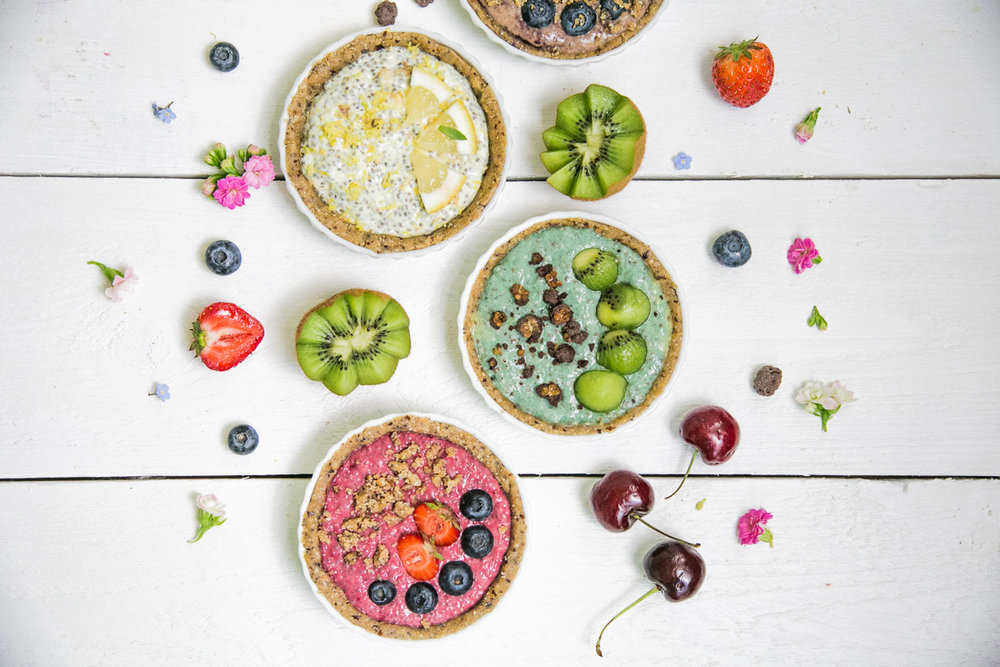 Gluten-free No-bake Sweet Pie / Photo: Wellberries
