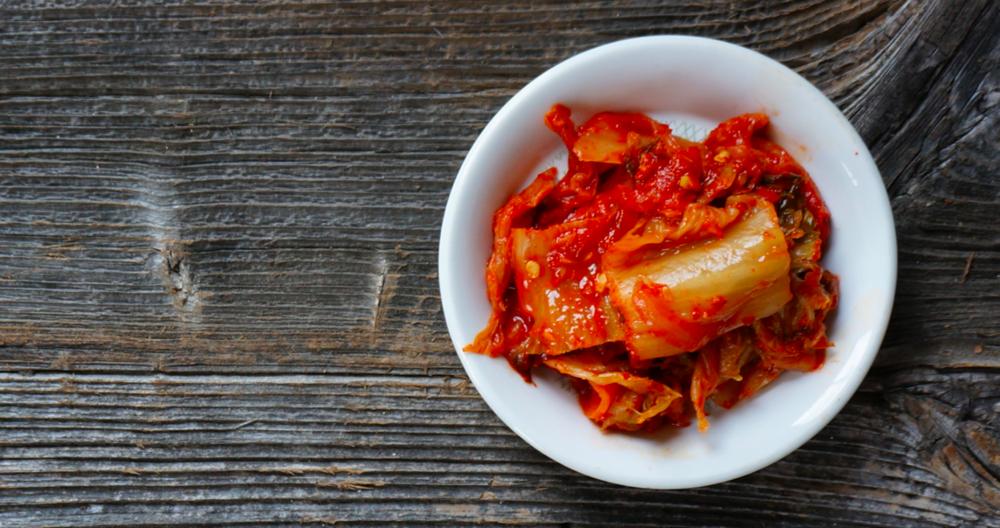 Kimchi  - Photo via Microbialfoods.org