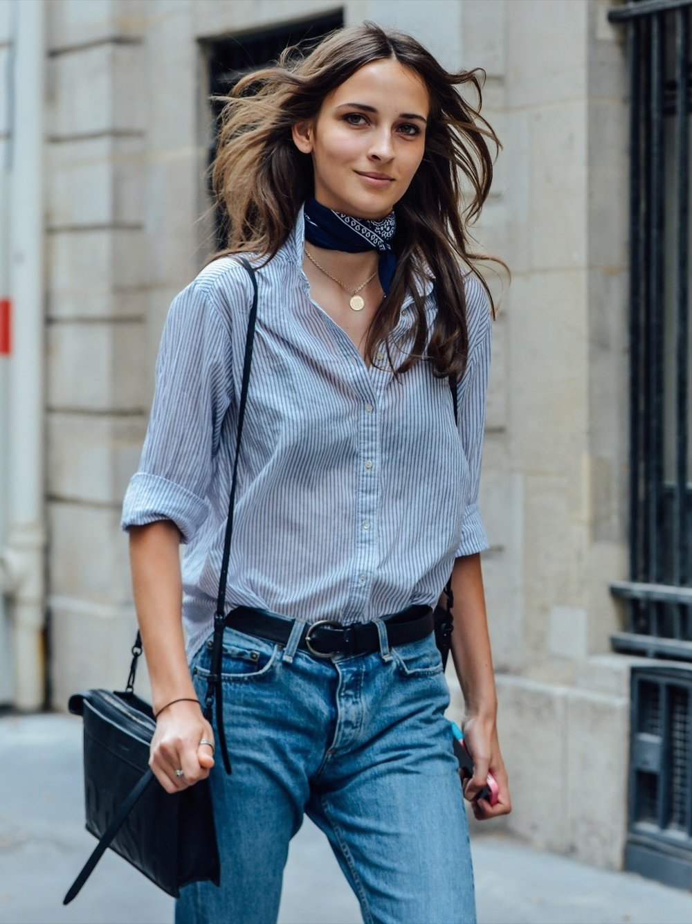 Denim Shirt - Source: Pinterest