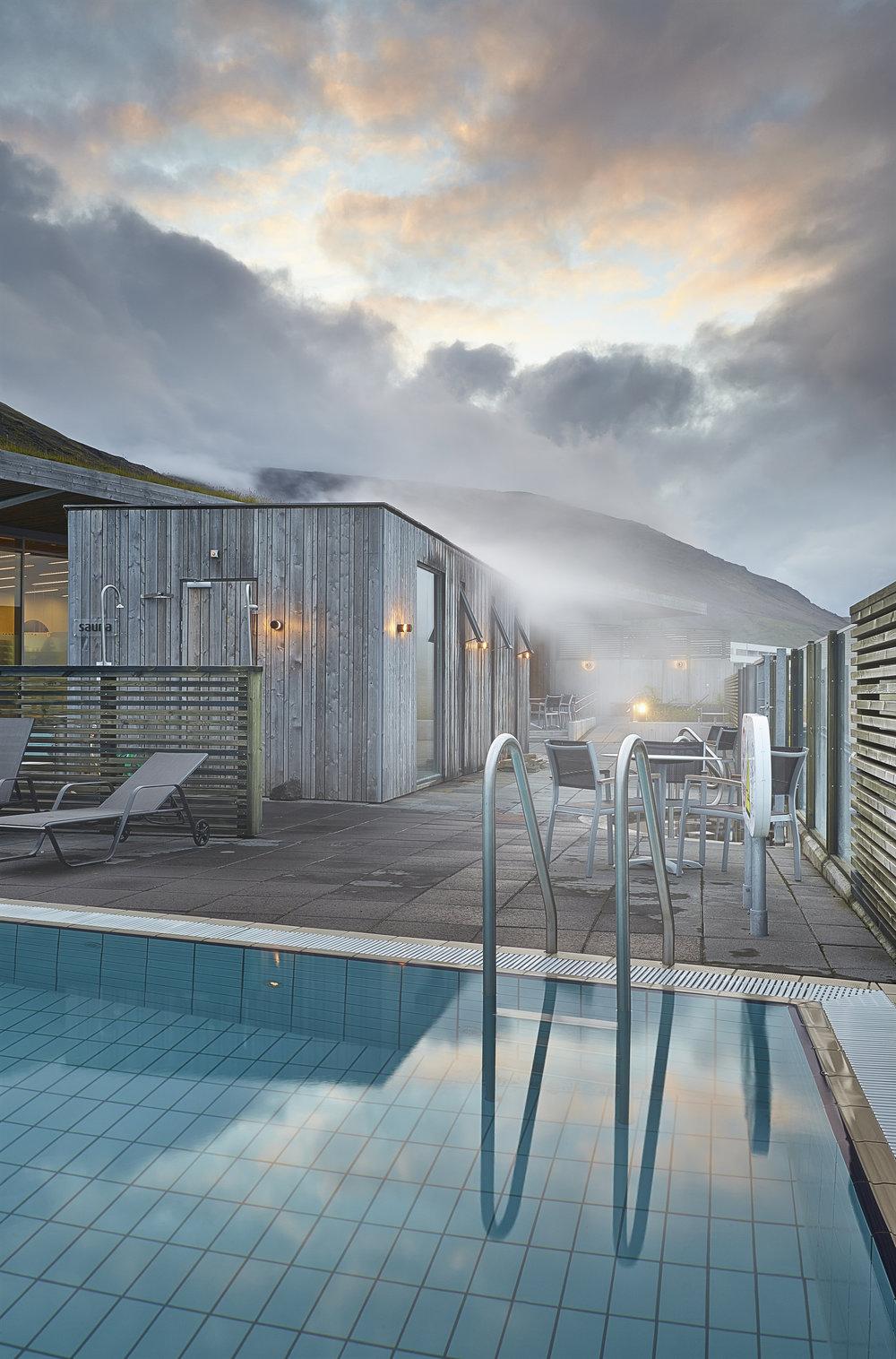 Fontana Geothermal Baths in Laugarvatn, Iceland #Savant -