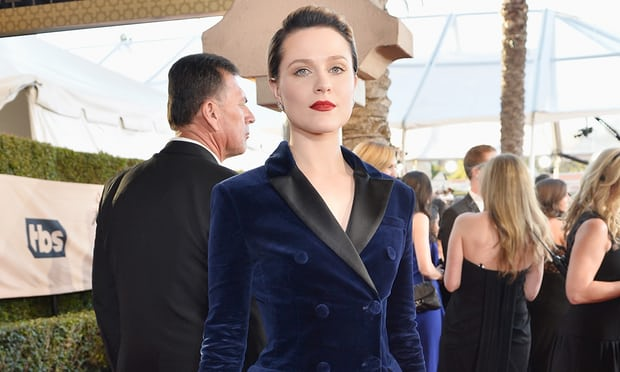 Evan Rachel Wood in Altuzzara for Screen Actors Guild Awards / Photograph: Stefanie Keenan/Getty Images for TNT / Source: The Guardian