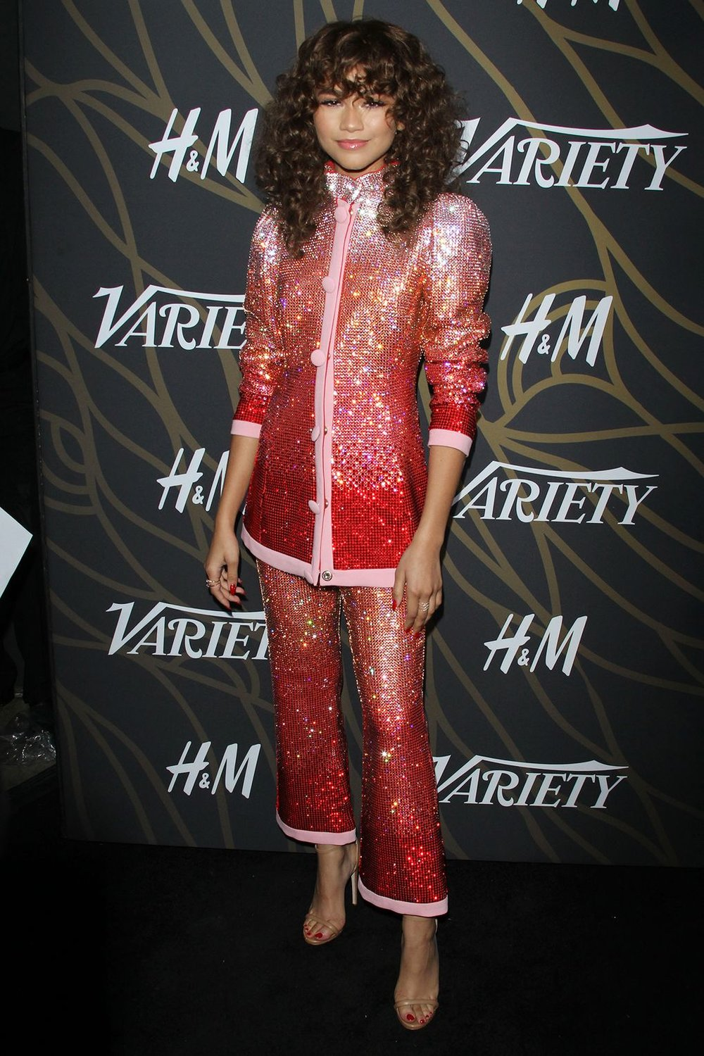 Actress Zendaya at Variety's 'Power of Young Hollywood' event / Image credit: Glamour Magazine
