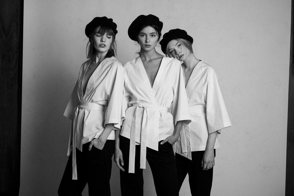 Photo: Oliver Moosus / MUA:Kadri Katariina Adorov / Models:Getter Killing / Alisa Grabovaja /Bianka Haavel / Styling: Kristi Pärn / Assistant Stylist:Andreas Kübar