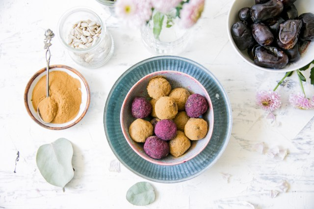 Licorice-date Bliss Balls / Image: Wellberries