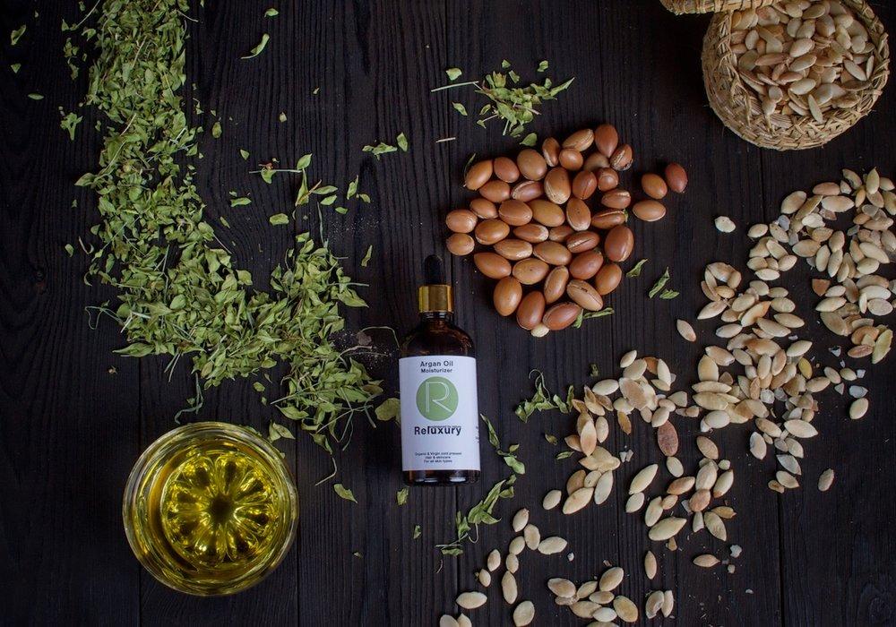 Reluxury: Organic Argan Oil Moisturiser.