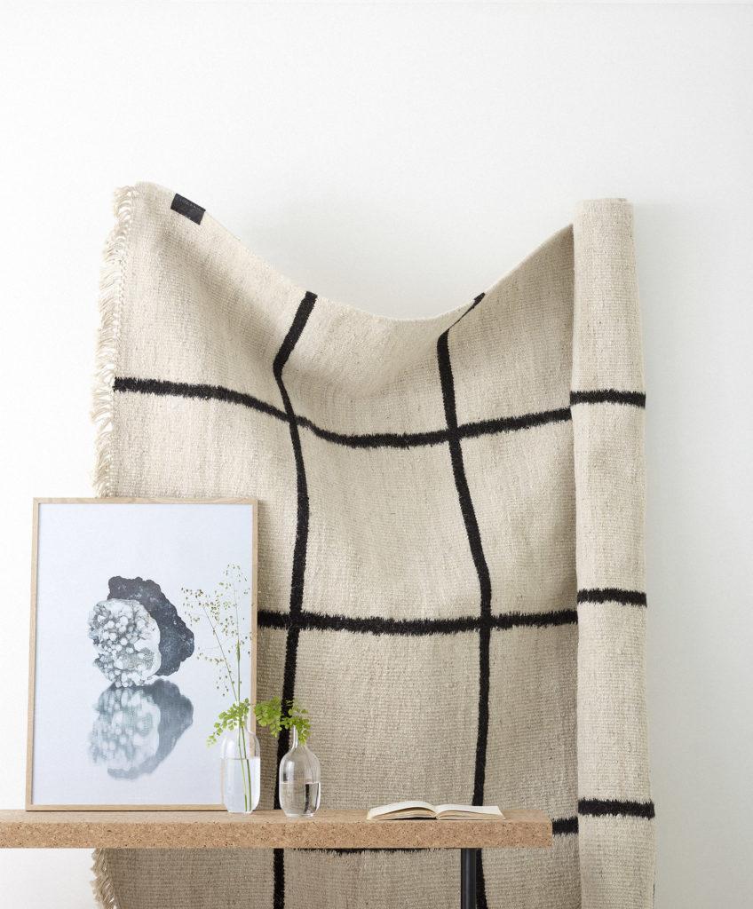 Image: Sera Helsinki Woven 'Kuura' Carpet