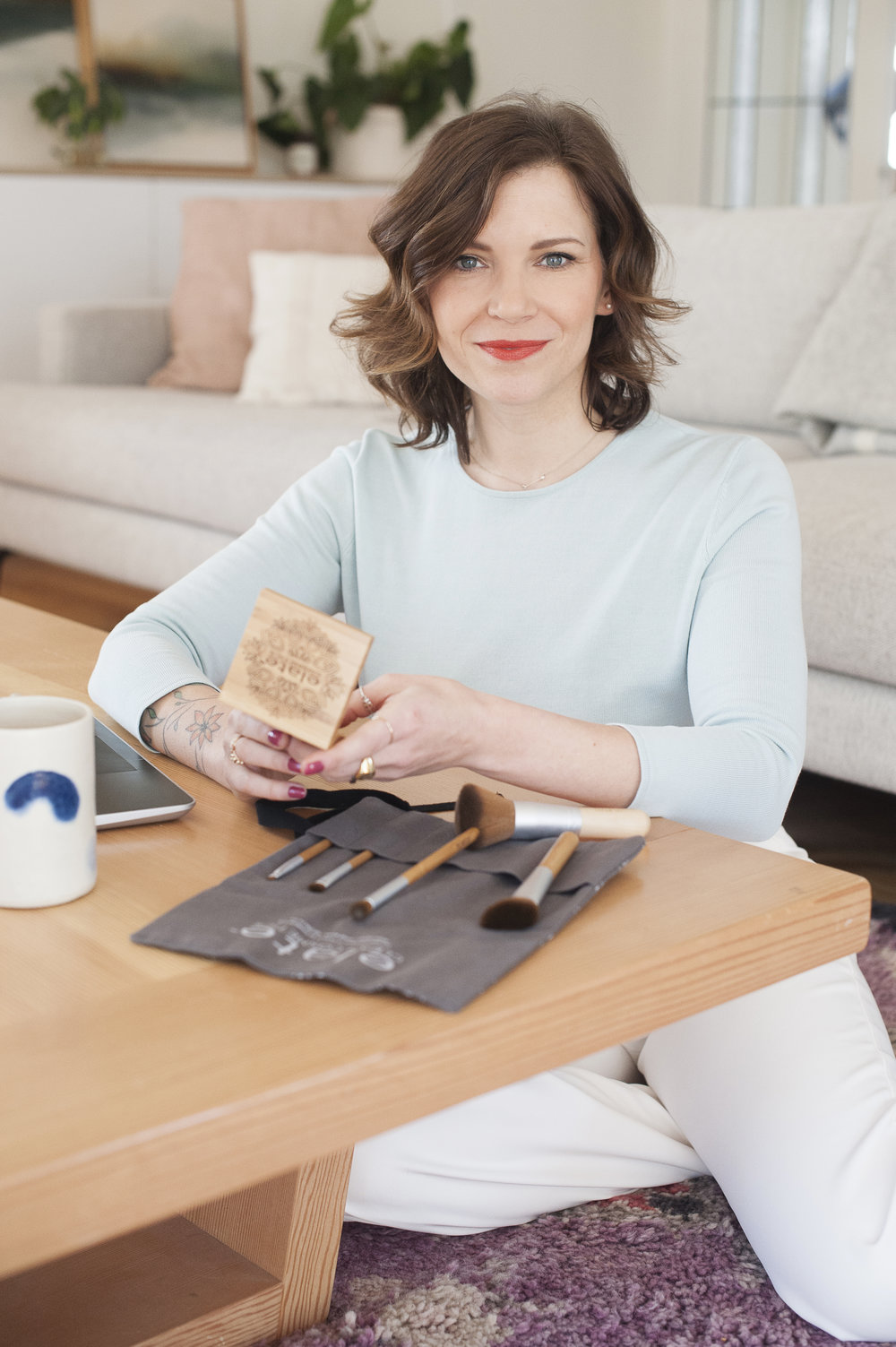 Image:Melodie Reynolds, Founder of Elate Cosmetics