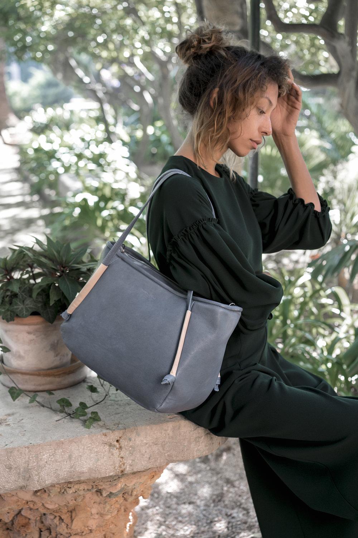 Image: Maravillas 'Soller' Vegetable-Tanned Leather Shopper Bag