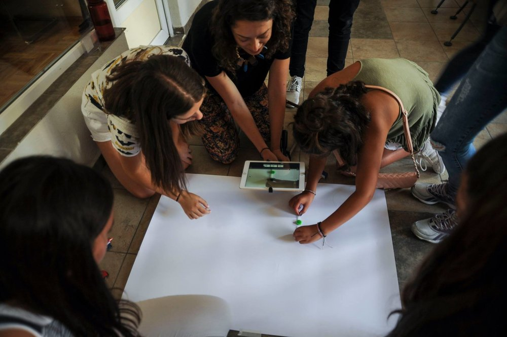 Image: Animation workshop in Kosovo / Ferdi Limani